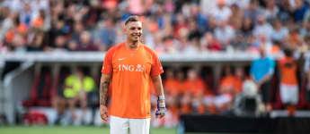Pietro Lombardi bei einem Charity-Fußballspiel 2019