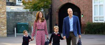 Prinz William, Herzogin Kate, Prinz George und Prinzessin Charlotte