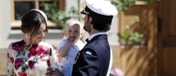 Sofia von Schweden, Carl Philip von Schweden und Prinz Gabriel