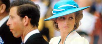 Prinz Charles und Lady Diana 1986
