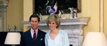 Prinz Charles und Lady Diana im Kensington Palast