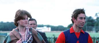 Prinz Charles und Lady Sarah Spencer