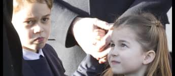 Royale Weihnachtsmesse: Charlotte lächelt - George schaut eher kritisch