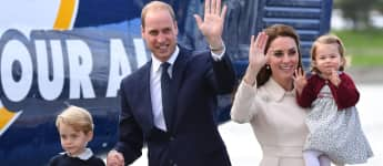 "Prinz George, Prinz William, Herzogin Kate und Prinzessin Charlotte bei ihrer ""Royal Tour"" nach Canada 2016"