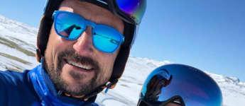 Prinz Haakon und Prinzessin Mette-Marit Ostern Ski Schnee