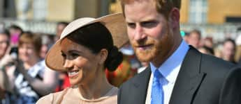 Prinz Harry Meghan Markle Gartenparty Charles