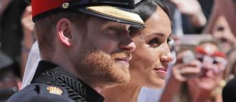 Prinz Harry und Herzogin Meghan Hochzeit Mai 2018