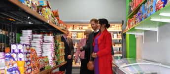 Prinz Harry Herzogin Meghan Supermarkt Birkenhead
