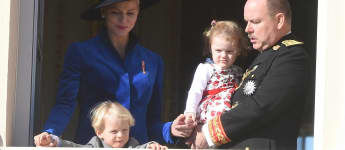 Prinzessin Gabriella Fürst Albert II. Prinz Jacques Fürstin Charlène Monaco
