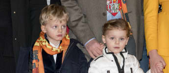 Prinz Jacques Prinzessin Gabriella Monaco Südafrika