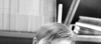 Prinz Oscar ist drei Jahre alt