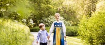 Prinz Oscar Prinzessin Estelle Bild schweden Tracht