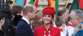 Herzogin Kate Prinz William Haare