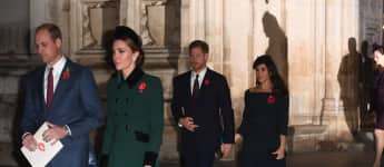Prinz William Herzogin Kate Prinz Harry Herzogin Meghan Remembrance Sunday