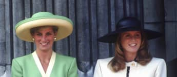 Lady Diana und Sarah Ferguson 1990 in London