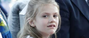 Prinzessin Estelle hat mit ihren sieben Jahren bereits zum zweiten Mal ein Metallica-Konzert besucht