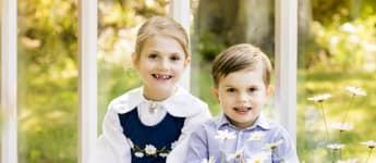 Prinzessin Estelle Prinz Oscar Bild Tracht Nationalfeiertag