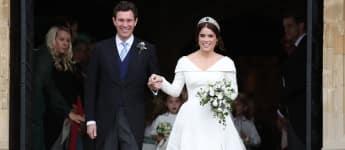 Jack Brooksbank und Prinzessin Eugenie bei ihrer Hochzeit