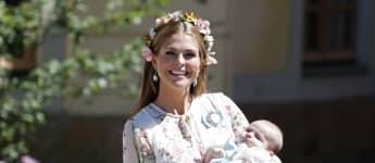 Prinzessin Madeleine mit ihrer Tochter Prinzessin Adrienne 2018