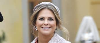 Prinzessin Madeleine am 1. Dezember 2017 auf Schloss Drottningholm