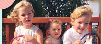 Prinzessin Madeleines süße Kinder: Leonore, Adrienne und Nicholas von Schweden