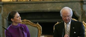 König Carl Gustaf Prinzessin Victoria Fokus Familie