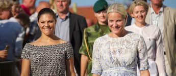 Prinzessin Victoria und Prinzessin Mette-Marit befreundet