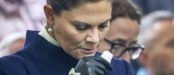 Während der Gedenkfeier zur Estonia-Katastrophe kamen Prinzessin Victoria von Schweden die Tränen