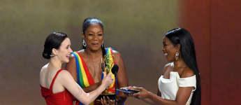 Rachel Brosnahan, Tiffany Haddish und Angela Bassett bei den Emmys 2018