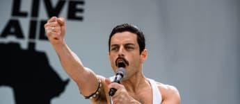 "Rami Malek as Freddy Mercury in 'Bohemian Rhapsody"""