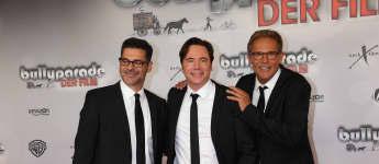 """Rick Kavanian, Michael Bully Herbig und Christian Tramitz bei der Premiere von """"Bullyparade - Der Film"""""""