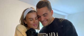 GNTM-Romina und Stefano Zarrella