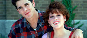 "Michael Schoeffling und Molly Ringwald in ""Sixteen Candles"", Sixteen Candles"