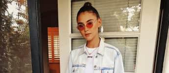 Stefanie Giesinger in ihrem Look für das Coachella-Festival