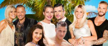 """""""Temptation Island V.I.P.""""-Kandidaten: Jasmin Herren und Willi Herren, Giulia Siegel und Ludwig Heer, Stephi und Julian, Roxy und Calvin"""