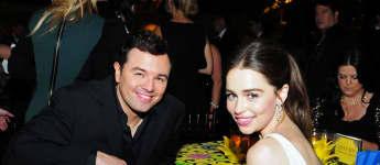 "Seth MacFarlane ""The Orville"", Seth MacFarlane Freundin, Seth MacFarlane und Emilia Clarke, Seth MacFarlane"