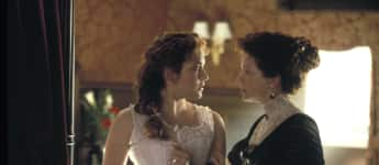 """Titanic"": Kate Winslet und Frances Fisher"