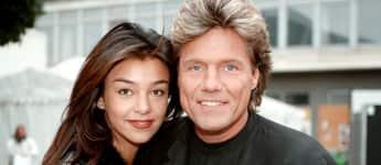 Verona Pooth, damals Feldbusch, und Dieter Bohlen im Jahr 1996