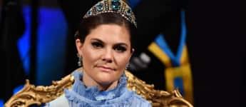 Prinzessin Victoria von Schweden beim Nobel-Preis-Award 2017 in Stockholm