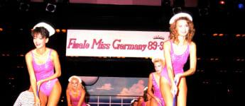 Verona Pooth im Jahr 1989 bei der Miss Germany Wahl