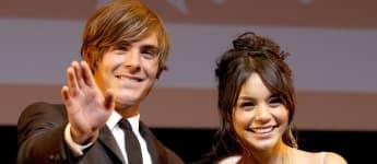 """Ein Schock für alle """"High School Musical""""-Fans: 2010 trennten sich Zac Efron und Vanessa Hudgens"""