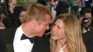 Brad Pitt und Jennifer Aniston im Jahr 2004