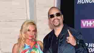 Coco Austin Ice-T auf dem roten Teppich