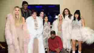 Der Kardashian-Klan bei Kanye Wests Fashion Show