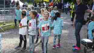 Estelle von Schweden bei ihrem Rennen beim Prinz Daniel-Lauf