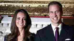 Herzogin Kate und Prinz William nach Bekanntgabe der Verlobung