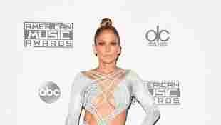 Jennifer Lopez bei den American Music Awards 2015