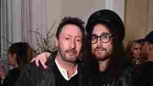 John Lennons Söhne Julian und Sean Heute im Alter von 2020 Yoko Ono
