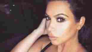 Kim Kardshian mit Mega Dekolleté