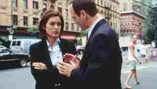 "Mariska Hargitay und Christopher Meloni in ""Law & Order Special Victim Unit"""